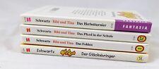 4 x Bibi und Tina - Schneider Buch  - Bücherpaket Sammlung Konvolut Hexerei