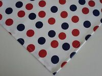 Dog Bandana/Scarf Tie/Slide On Patriotic July 4th Custom Made by Linda Medium