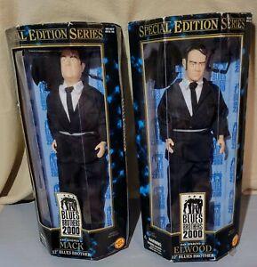 "Blues Brothers 2000 Aykroyd ELWOOD & Goodman MACK Special Ed 12"" Figures 1997"