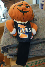 Illinois Fighting Illini Golf Club Head Cover Basketball head NWT