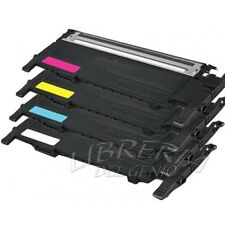 4 TONER COMPATIBILE PER STAMPANTE SAMSUNG CLP320 N 325 NW CLX3180 3185 NW 4072