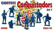 CHINTOYS cht009 Conquistadors Set 1. Spanish. 1/32 c.54mm - 60mm