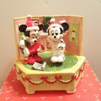 Schmid Disney Music Box Tune: The Christmas Song, 417-033 Mickey Minnie