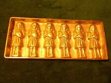 Victorian Girl Holding Ball Flat Chocolate Mould Mold~Anton Reiche, Dresden #786
