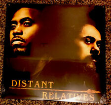 NAS & DAMIAN MARLEY Distant Relatives 2LP 2010 1ST PRESS Stephen K'naan SEALED!