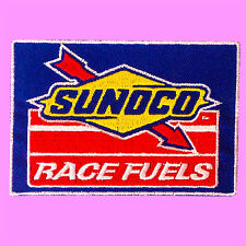 Blue Sunoco Race Fuels Motor Sport Oil Car Gas Station Embroidered Iron On Patch