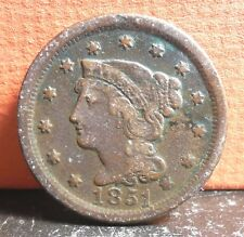 Better Grade 1851 Braided Hair Large Cent