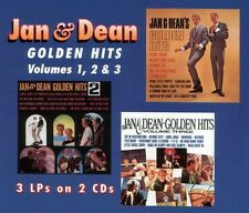 Golden Hits V1-3 by Jan & Dean (2 CD's 1996, One Way Records, S22-18838, OOP)