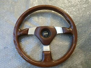 MOMO wood steering wheels  classic BMW BENZ FIAT TOYOTA HONDA NISSAN ..