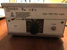 Thermolyne Type 7200 Magnetic Stir Light Model Sl 7225