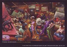 AFRICAN AMERICAN ART PRINT Lennys Lounge Frank Morrison