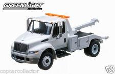 Greenlight 1/64 International Durastar Wrecker Tow Truck - Blank White