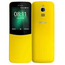 Nokia 8110 4G 512MB/4GB LTE Dual Sim SIM FREE/ UNLOCKED - Yellow