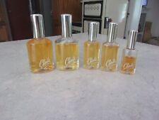 5 VINTAGE Revlon Spray CHARLIE COLOGNE Bottles %Full~Total 3 0z. +