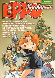 STRIPBLAD EPPO 2009 KERSTSPECIAL - FRANKA(COVER)/HAAS/AGENT 327/BOB EVERS/ELSJE