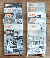 Vintage QST AMATEUR RADIO MAGAZINE - 1971 Full Year, 12 Issues