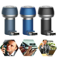 Portable Travel Electric Razor Mini Micro+USB Shaver Hair Removal for Men