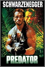 """001 Predator-Arnold Schwarzenegger Beat Monster Hot Película Póster de 24""""x36"""""""