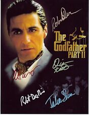 The Godfather Ii 8 x 10 Reprint Photo & Reprint Autograph On G