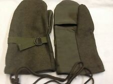 GLOVES MITTENS COMBINED ORIGINAL AUSTRIAN ARMY WOOL EXCELLENT QUALITY