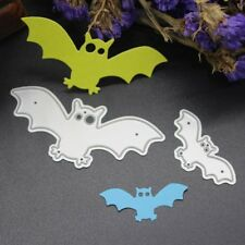 2PCS Bat Cutting Dies Stencils DIY Scrapbook Album Embossing Card Paper Craft