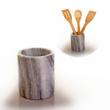 Premium Marble Utensil Holder- Multi-purpose Holder- Pen Holder- Wine Chiller
