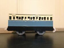 Thomas Train Trackmaster Blue And Ivory Passenger Coach
