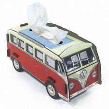 Taschentuchspender VW Bus Bulli rot/weiß Kosmetiktücher Box Tissue Werkhaus