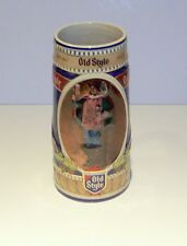 1990 G.HEILEMAN OLD STYLE ANNUAL HOLIDAY STEIN