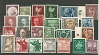 German Third Reich Stamps --    Large Lot  -  Mnh