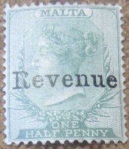 MALTA (P1406B)  QV REVENUE 1/2D  Mint