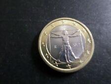 ITALIE - PIECE de MONNAIE de 1 euro 2012, PROPORTIONS CORP L DE VINCI, VF COIN