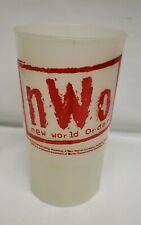 """Vintage Wcw Wrestling Nwo """"New World Order"""" Collectible Cup From 1998"""