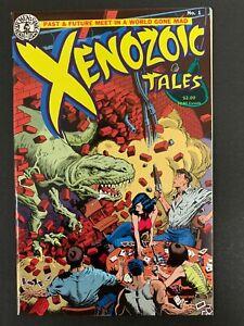 XENOZOIC TALES #1 *HIGH GRADE!* (KITCHEN SINK, 1987) MARK SCHULTZ! LOTS OF PICS!