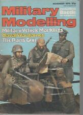 MILITARY MODELLING MAGAZINE  NOVEMBER 1979   MILITARY VEHICLE MARKINGS  LS