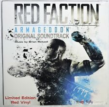 ESAR1835. RED FACTION: ARMAGEDDON Limited Edition Red Vinyl Original Soundtrack