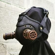 Steampunk Mask Burning Man Leather Mask Gas Mask