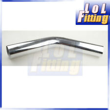 "4"" 102mm 45 Deg Turbo Intercooler Pipe Piping Aluminum Tube Tubing L=610mm"