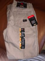 Ariat® Men/'s FR M4 Relaxed Workhorse Khaki Bootcut Pants 10017227
