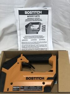 "Bostitch BTFP71875 Heavy Duty 3/8"" Pneumatic CROWN STAPLER Brand New (#84)"
