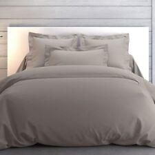 Anne de Solene Vexin Standard Queen Pillow Sham Solid Brume Gray
