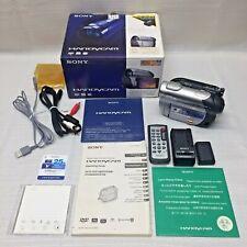 Sony Dcr-Dvd308 Digital Video Camera Recorder HandyCam Mega Pixel Wide Lcd