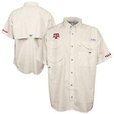 Nwt Columbia Texas A&M Aggies Pfg Bonehead Shirt- $60+