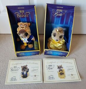 BEAUTY AND THE BEAST MEERKAT PLUSH soft toy BELLE compare the market DISNEY box