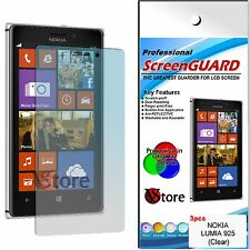 3 for Films Nokia Lumia 925 Protector Save Screen LCD Display Film