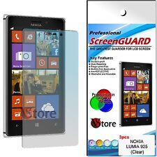 3 Películas Para NOKIA Lumia 925 Proteger Guardar Pantalla pantalla LCD Película