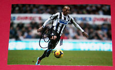 YOAN GOUFFRAN NEWCASTLE UNITED HAND SIGNED AUTOGRAPH PHOTO SOCCER