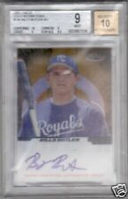 BGS 9 MINT 2005 Finest GOLD REF AUTO Billy Butler RC/49