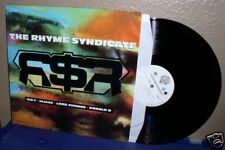 The Rhyme Syndicate LP OOP Orig Ice-T Lord Finesse