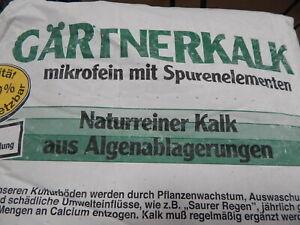 Algenkalk GÄRTNERKALK 25 kg Gartenkalk Kalk für Hecken Buxus Rasen GANZJÄHRIG